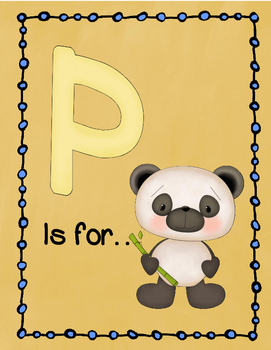 Letter P Story and Writing Practice
