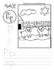 Letter P Trace and Write Worksheet Pack