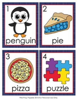 Letter P Words Write the Room Activity