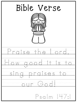 Letter P is for pray. Bible Letter of the Week.