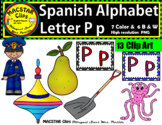 Letter P p Spanish Alphabet Clip Art   Letra Pp Personal and Commercial Use