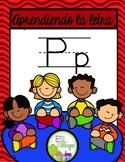 Aprendiendo la letra P