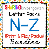 Letter Pack 2 {Nn-Zz}