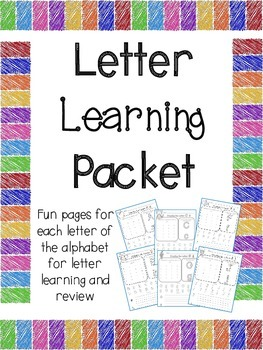 A- Z Letters Packet