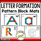 Letter Pattern Block Mats