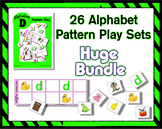 Letter Pattern Play Game Bundle for the Entire Alphabet ~