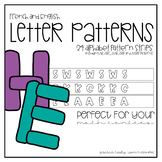 Letter Patterns for English and French Classrooms