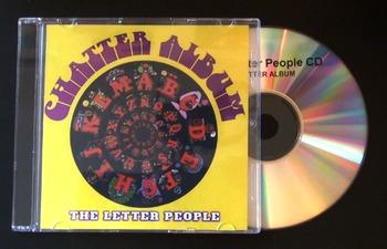 Original Letter People CD 2: ALPHA ONE - Chatter Album