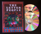 The Original Letter People DVD - Complete Series - Alphabet Sounds