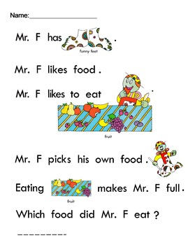 Letter People Reading Fill in the Blank All about us (26) worksheets