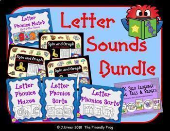 Letter Phonics / Beginning Sounds Bundle