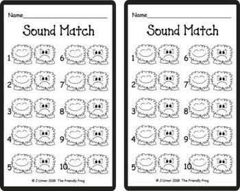 Letter Phonics / Beginning Sounds Match: Write the Room FREEBIE