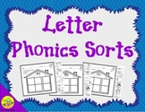 Letter Phonics / Beginning Sounds Sorts: Cut and Paste