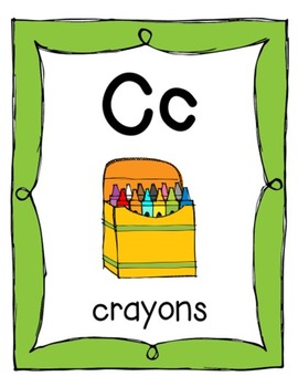 Letter Phonics Posters