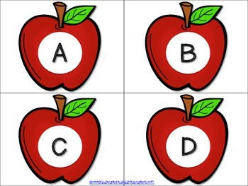 Let's Pick Apples! Interactive Alphabet Game