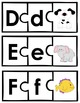 Letter-Picture Alphabet Puzzles: Tactile-Visual Phonics