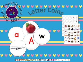Letter Picture Coins