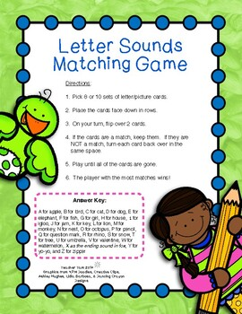 Letter Picture Match