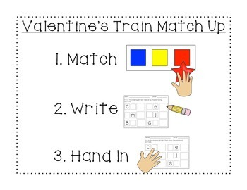 Letter-Picture Match Up: Valentine's Edition
