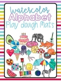 BUNDLE ~ Learning Play Dough Mats ALPHABET & NUMBERS 1-10