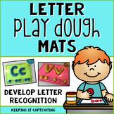 Letter Play Dough Mats