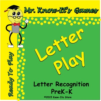Letter Play Game (Letter Recognition)