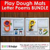Letter Poem Playdough Mats