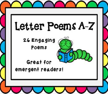 Letter Poems A-Z Bundle!