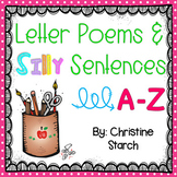 Letter Poems and Silly Sentences