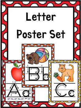 Letter Poster Set