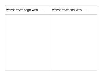 Letter PowerPoint/ Smart Board