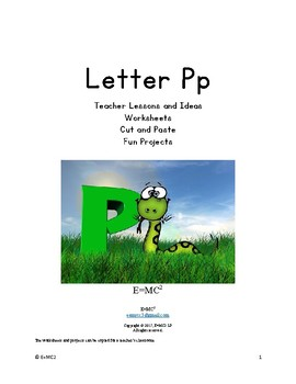 Letter Pp
