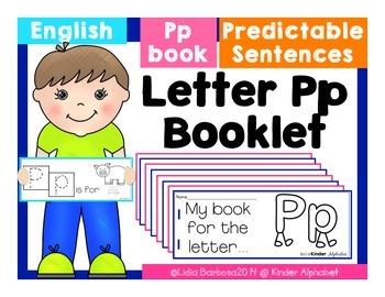 Letter Pp Booklet- Predictable Sentences