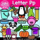 Letter Pp Digital Clipart