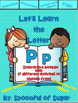 Letter Pp- Interactive Activities Booklet