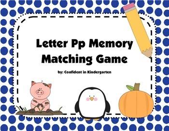 Letter Pp Memory
