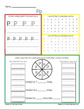 Letter Recognition Pp Practice