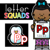 Letter Pp Squad: DAILY Letter of the Week Digital Alphabet