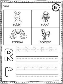 Alphabet Letter Practice