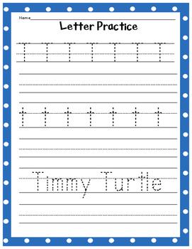 Letter Practice