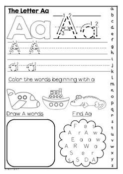 Letter Practice- Alphabet Fun!