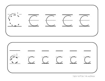 Trace And Erase Letter Cards