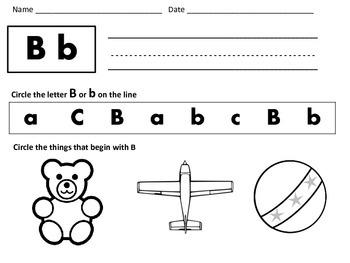 No-Prep Literacy Centers: Preschool and Kindergarten: Letters