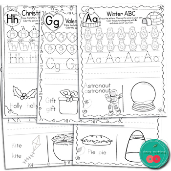 Letter Practice Pages BUNDLE (Still Growing)