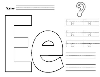 Letter Practice- Vowels Only