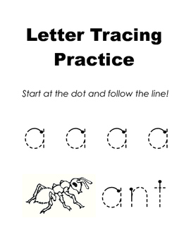 Letter Tracing Practice