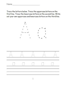 Letter Prompt Printables FREEBIE