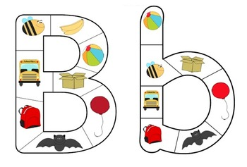 Alphabet Letter Puzzle Bundle: Lower-case and Capital Letter Pack!
