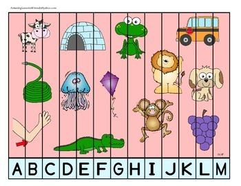 Letter Puzzle Mats