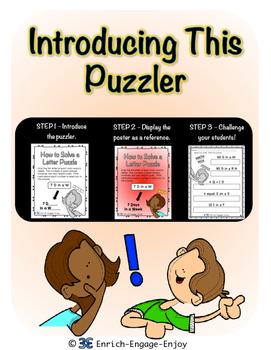 Letter Puzzle Puzzlers